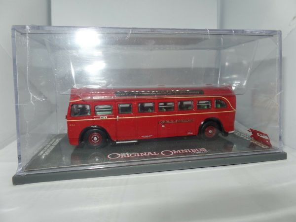 Corgi OOC 41004A AEC Q Bus London Transport Ramblers Route 233 Finsbury Park NC